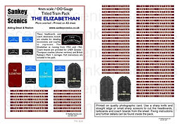 4 mm Scale Named Train The Elizabethan A