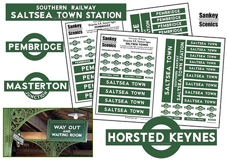 Customised Southern Railway Targets and