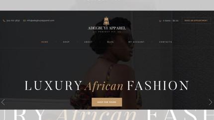Adegbuyi Apparel Clothing Line