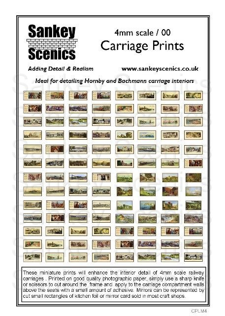 4mm Carriage Prints Pack 1