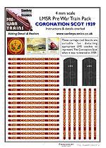 4 mm Scale Pre War Coronation Scot maroo