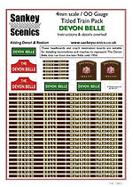 4 mm Scale Named Train Devon Belle NEW.j