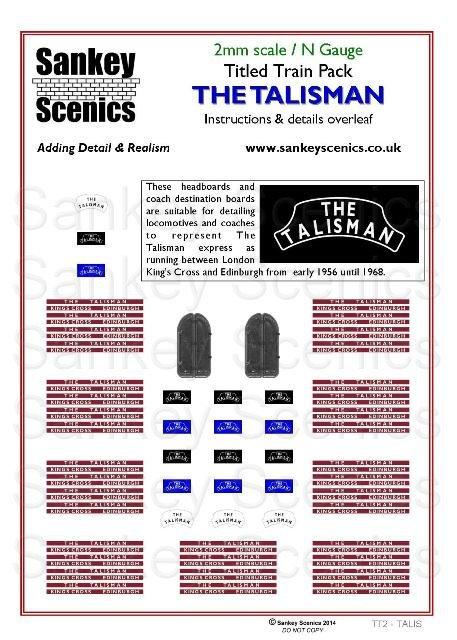 2mm Titled Train: The Talisman