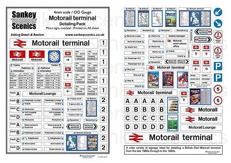 4mm Motorail terminal Detailing Pack
