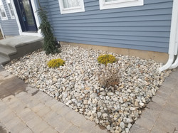 Planting with River Stone