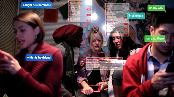 Stephanie Cecile Yavelow, Loren Battley, Molly Connor, Joyce Lai, Reuben Uy in Episode 3 of THE WEB OPERA