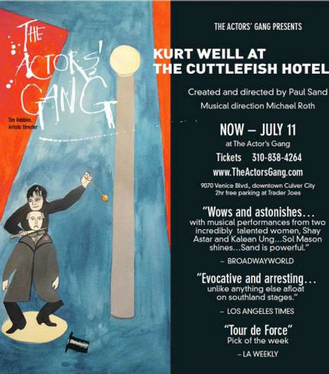 Kurt Weill at the Cuttlefish Hotel