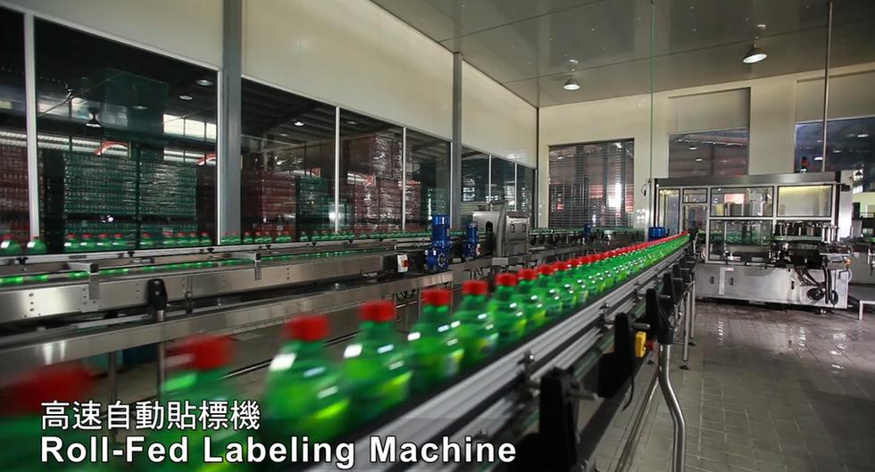 017.Roll-Fed Labeling Machine