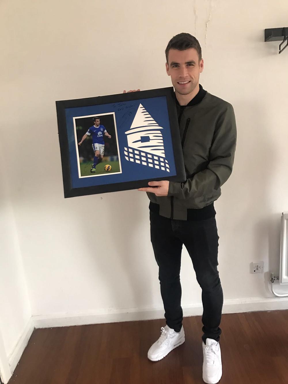 Everton FC Captain, Seamus Coleman