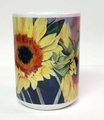 Sunflower Coffee Mug_2