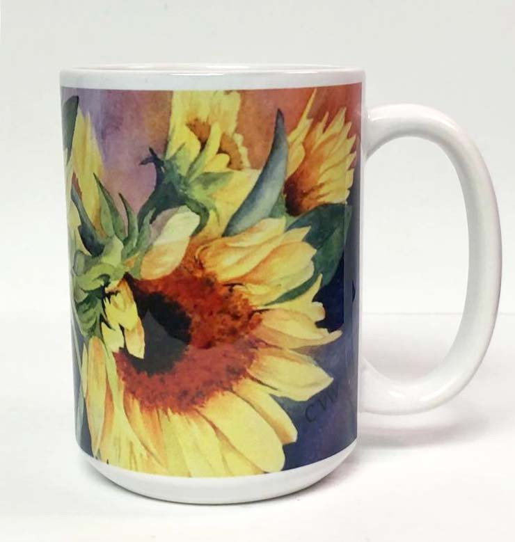 Sunflower Coffee Mug_3