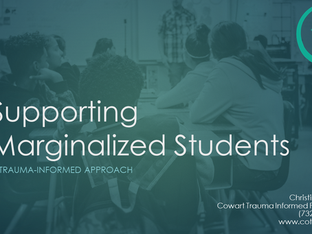 Introducing a New Course in Supporting Marginalized Students!