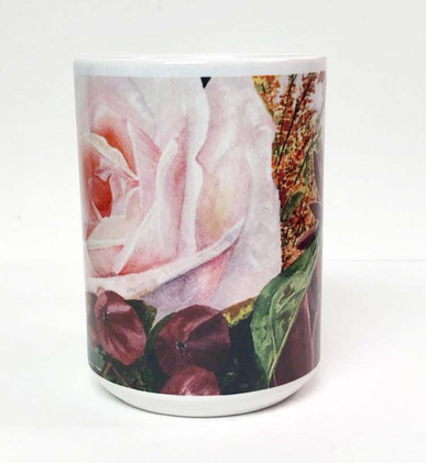 Pink Rose Coffee Mug_2