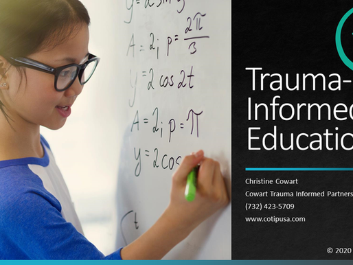 Register Now for 5-Week Trauma-Informed Education Course!