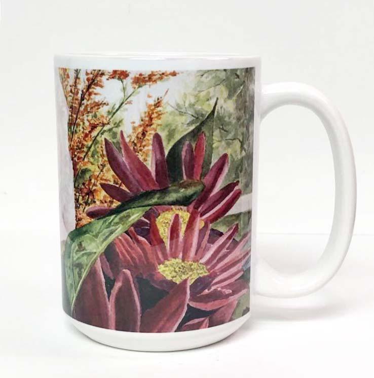 Pink Rose Coffee Mug_3