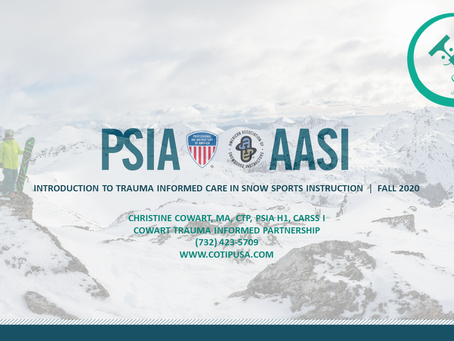 Special Educational Event for Ski and Snowboard Instructors!
