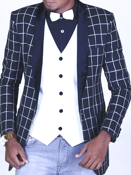 Antway's Exclusive Designer Suit (Black)