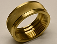 CNC Turned Part Brass