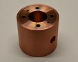 CNC Turned Part Copper