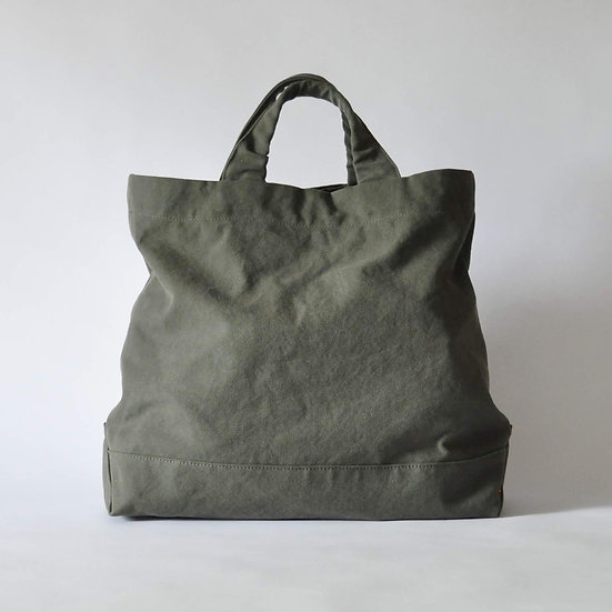 eighth note - tote (washed khaki)