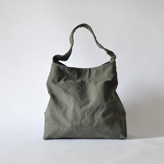 eighth note - shoulder (washed khaki)