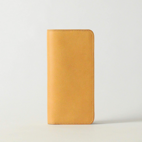 long wallet - natural