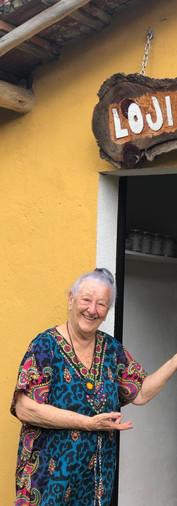Mamãe Do Fundador do Riacho Doce, nos visitando =