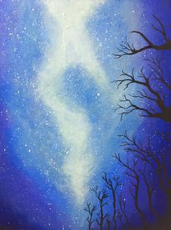 Majestic starry Night