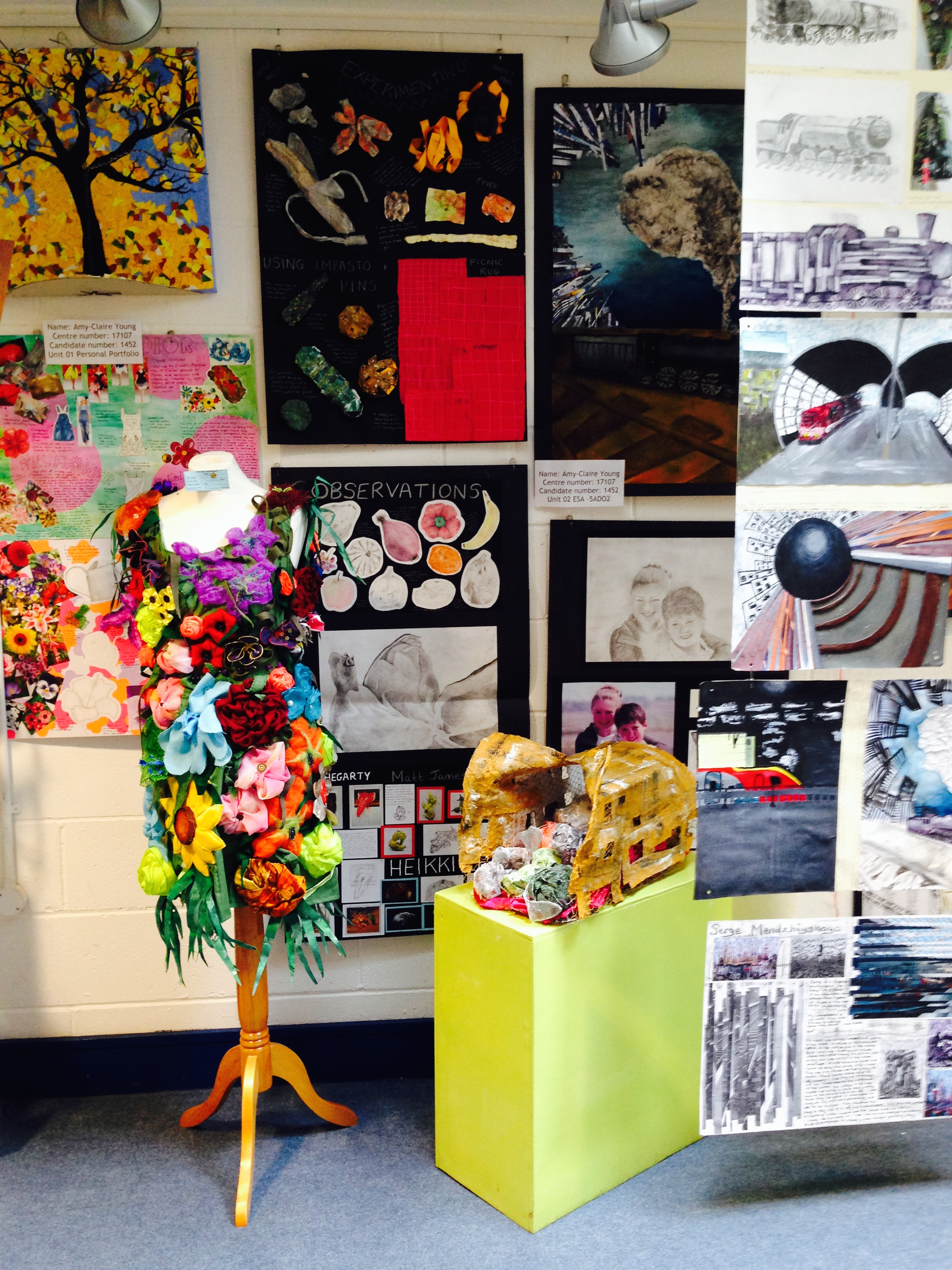 GCSE Exhibition