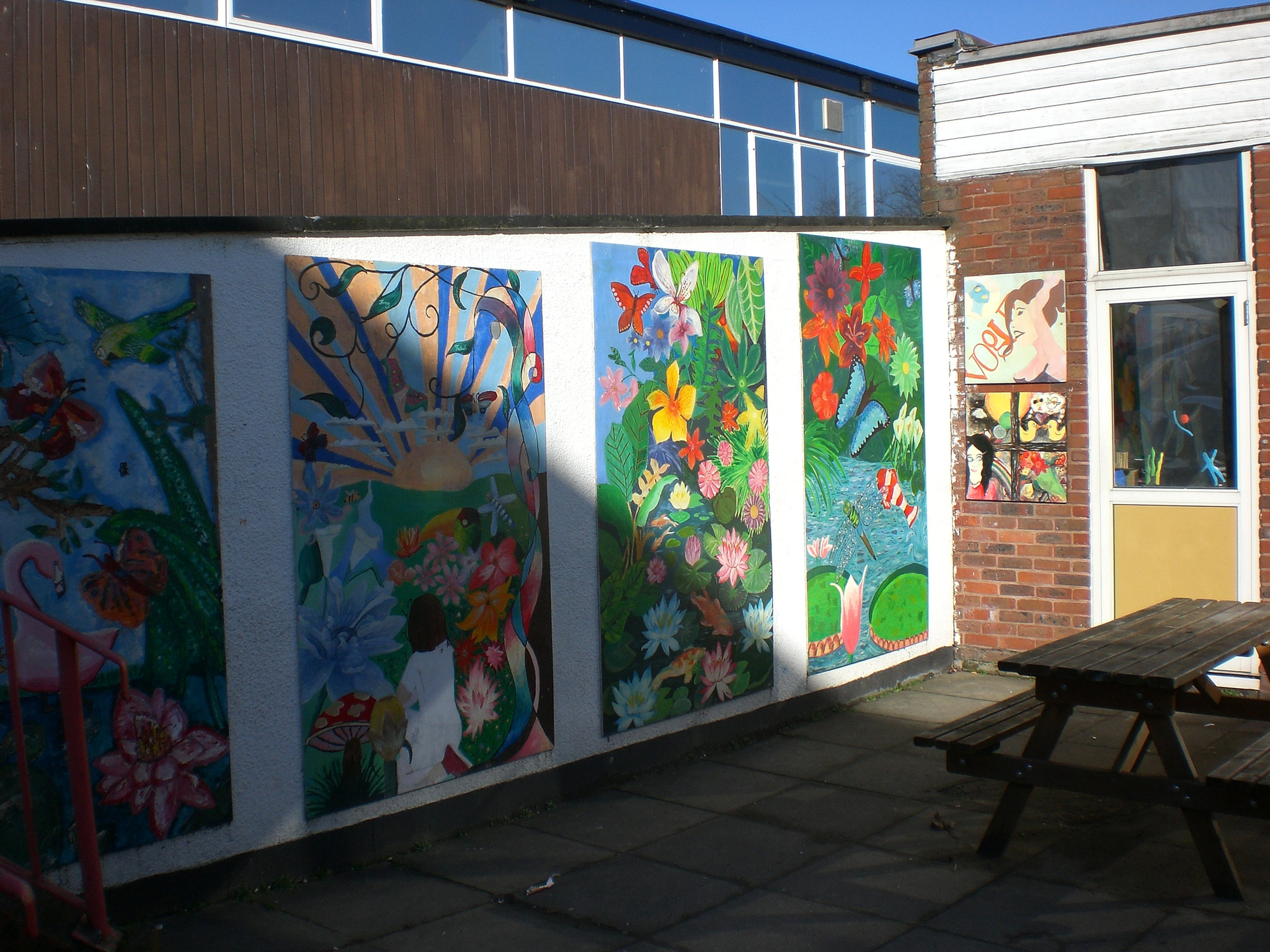 art and design room art classes north london wall murals whole