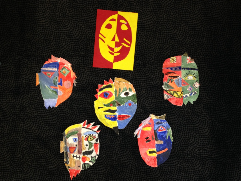Picasso masks