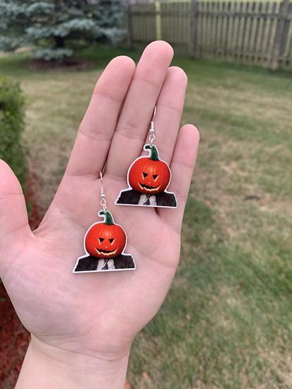 Spooky Dwight Earrings