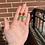 Thumbnail: Beaded Rosie Studs