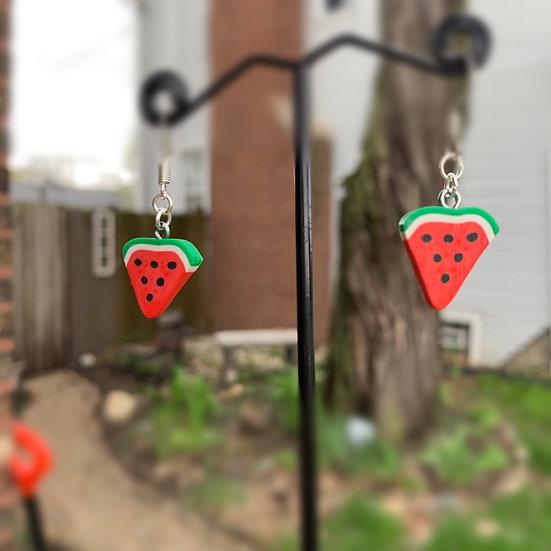 One In A Melon Earrings