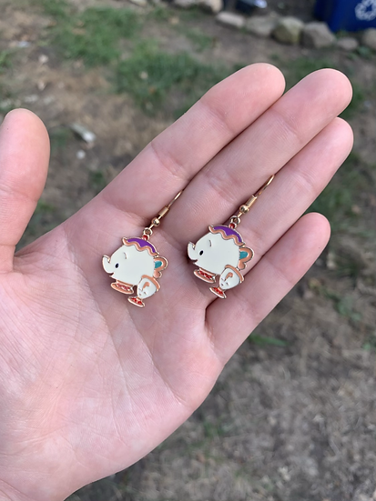 Mrs. Pots and Chip Earrings