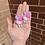 Thumbnail: Hello Kitty Easter Bunny Earrings
