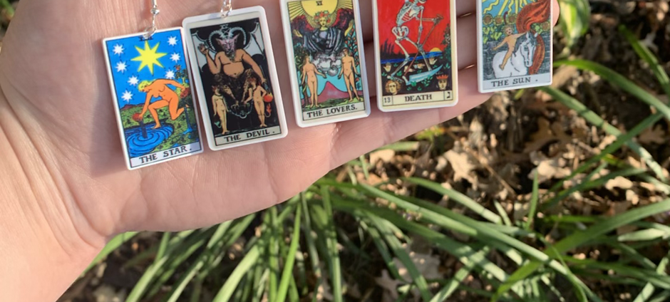Tarot Card Earring Collection