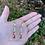 Thumbnail: Beaded Mosaic Earrings
