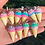 "Thumbnail: ""I Scream"" Cone Earrings"