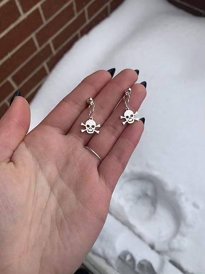 Skull and Crossbones Dangles