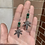 Thumbnail: Malachite & Aventurine Mary Jane Dangles