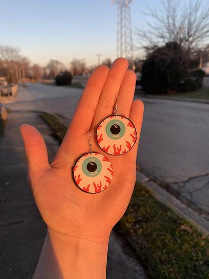 Creepy Eyeball Earrings