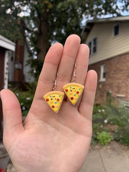 Pizza Slice Earrings