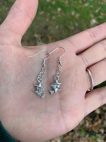 Mini Witch Earrings