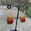 Thumbnail: Red Miniature Present Earrings