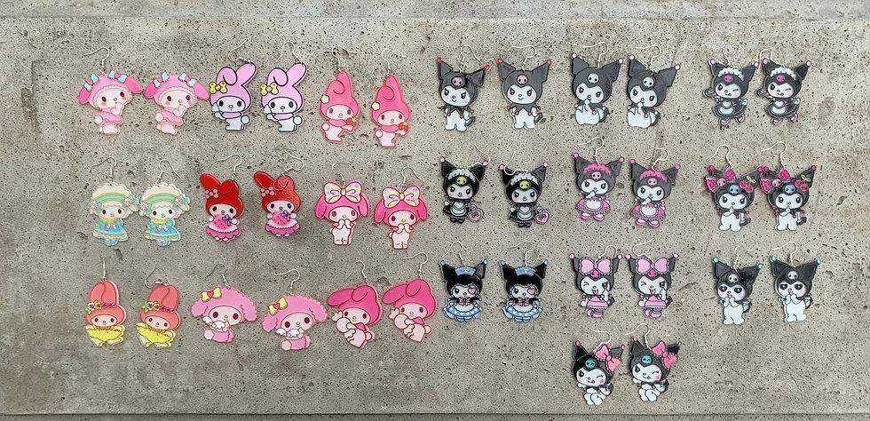 Sanrio Earring Collection