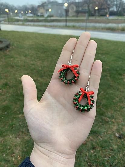 Miniature Wreath Earrings