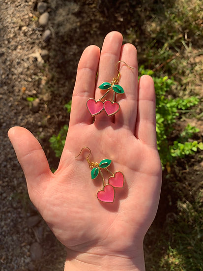 Cherry Love Earrings