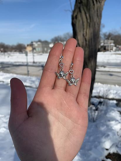 Cherub Love Earrings