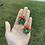 Thumbnail: Miniature Wreath Earrings